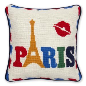 Jet Set Paris Pillow